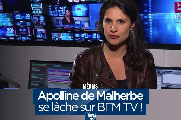 Apolline de Malherbe se lâche sur BFMTV ! #fail