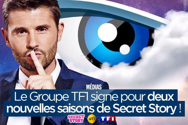 Le Groupe TF1 signe pour deux nouvelles saisons de Secret Story ! #SS10