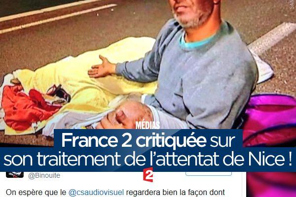 France 2 critiquée sur son traitement de l'attentat de Nice ! (mis à jour) #NousSommesUnis