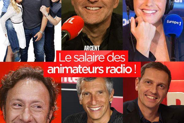 Le salaire des animateurs radio ! #business