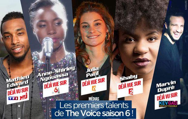 Les premiers talents de The Voice saison 6 ! #TheVoice
