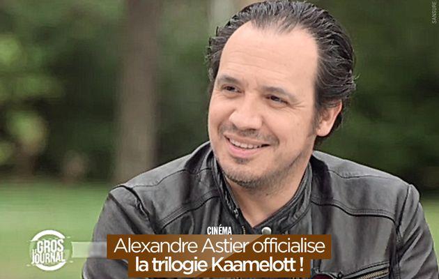 Alexandre Astier officialise la trilogie Kaamelott ! #Kaamelott