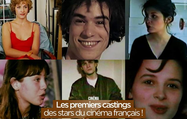 Les premiers castings des stars du cinéma français ! #casseroles