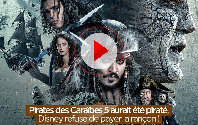 Pirates des Caraïbes 5 aurait été piraté, Disney refuse de payer la rançon ! #PiratesdesCaraïbes