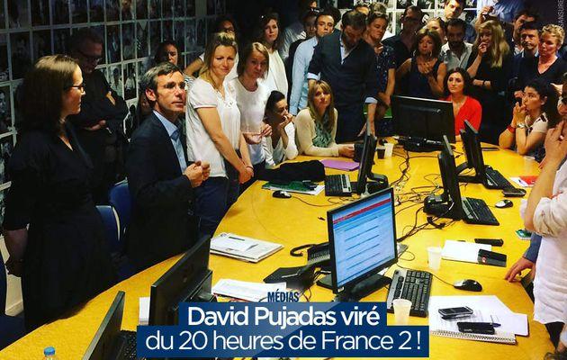 David Pujadas viré du 20 heures de France 2 ! #France2