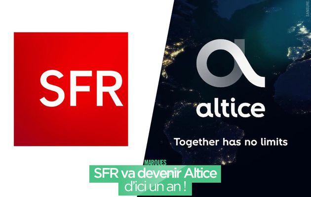 SFR va devenir Altice d'ici un an ! #altice