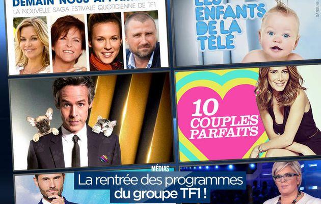 La rentrée des programmes du groupe TF1 ! (mis à jour) #TF1