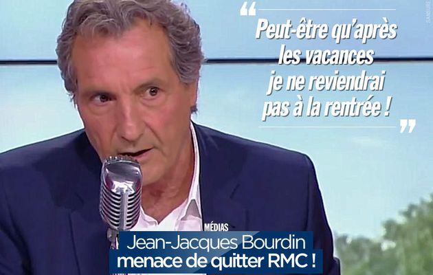 Jean-Jacques Bourdin menace de quitter RMC ! #clash