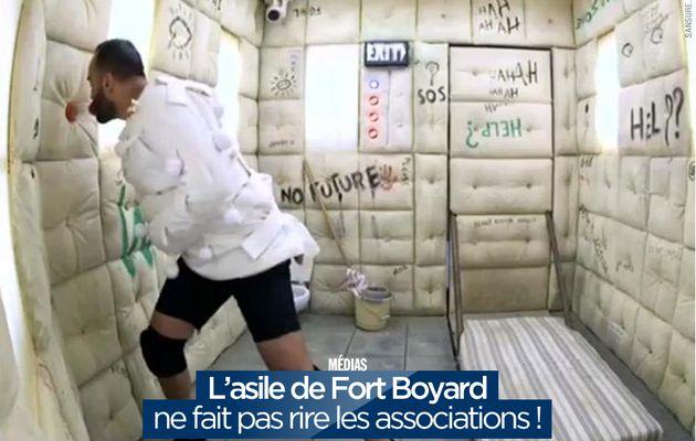 L'asile de Fort Boyard ne fait pas rire les associations ! (mis à jour) #FortBoyard