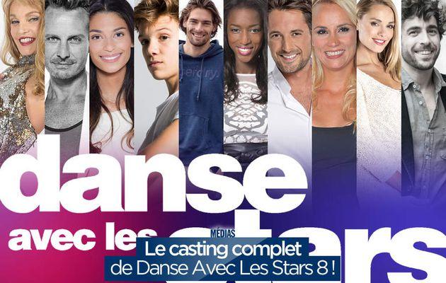 Le casting complet de Danse Avec Les Stars 8 ! #DALS