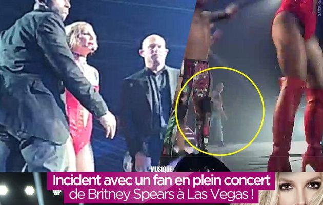 Incident avec un fan en plein concert de Britney Spears à Las Vegas ! #PieceOfMeVegas