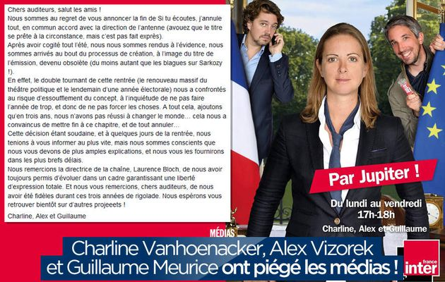 Charline Vanhoenacker, Alex Vizorek et Guillaume Meurice ont piégé les médias ! #ParJupiter