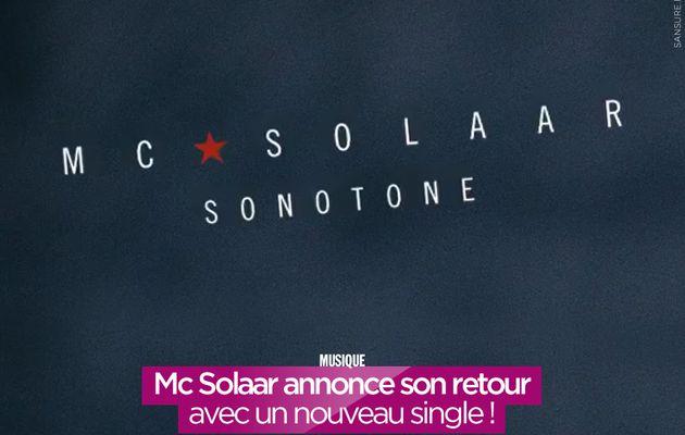 Mc Solaar annonce son retour avec un nouveau single ! #Sonotone
