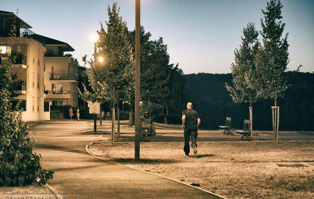 Promenade verte à l'heure bleue..