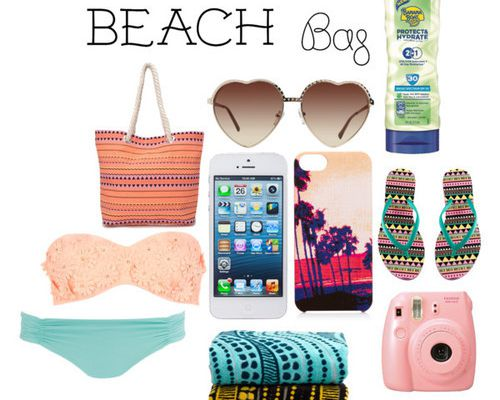What's in my beach bag ?