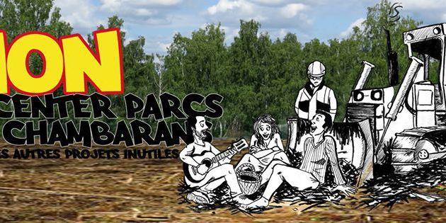 Non au Center-Parcs à Roybon ! (communiqué PRCF-38)