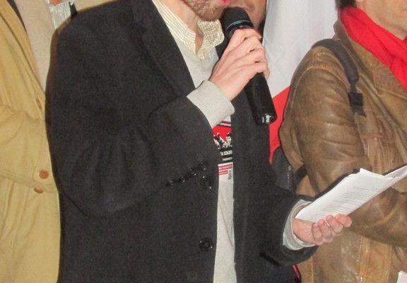 Interview d'Olivier Le Roy, secrétaire de la section d'Aix-en-Provence du MJCF
