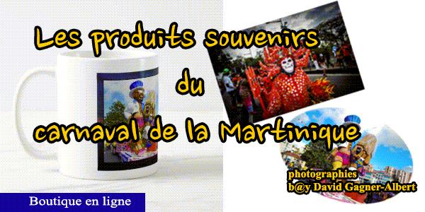 🎭 Les plus beaux produits souvenirs du carnaval de la Martinique par David Gagner-Albert, Martinique