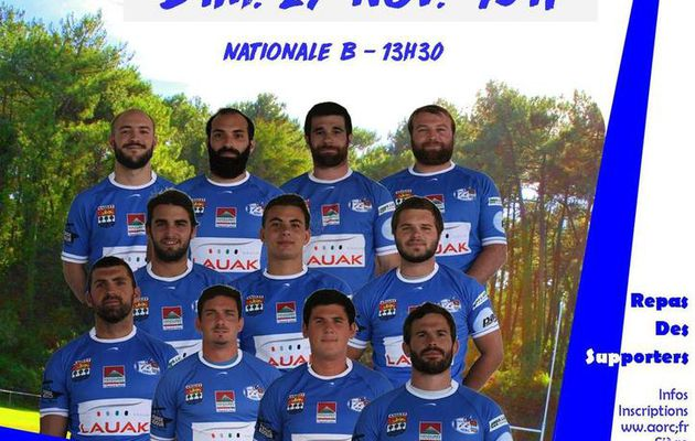 GRAND MATCH CE DIMANCHE CONTRE TYROSSE A ANGLET ST JEAN: