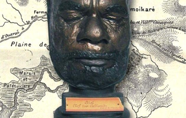 La tête du chef de guerre Ataï rendue à sa tribu kanak de Nouvelle Calédonie (2)