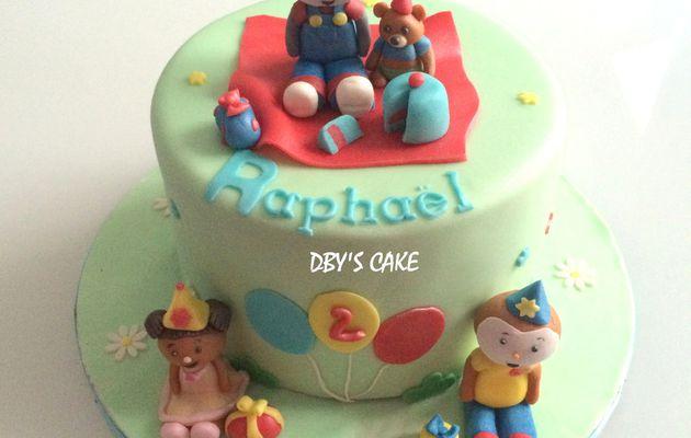 Gâteau Tchoupi & Doudou 5