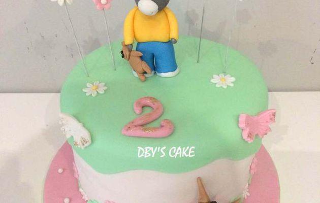 Gâteau Trotro Girly 2