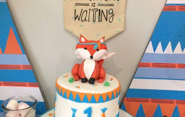 Gâteau Renard / Tipi