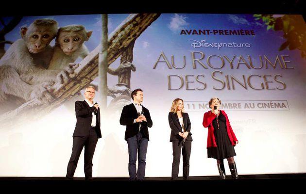 """""""AU ROYAUME DES SINGES"""", INTERVIEW DE L'ÉQUIPE DU FILM"""