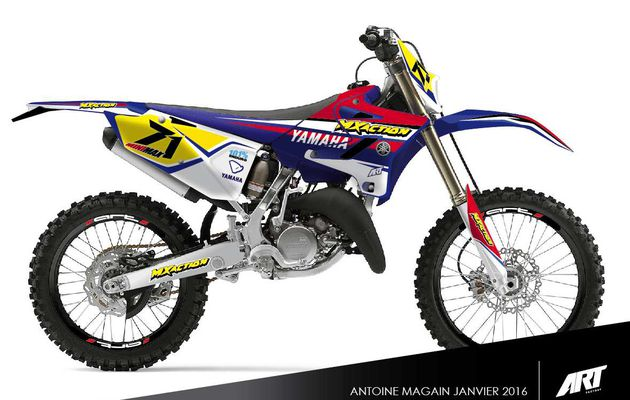3/01/2016: La Yamaha d'Antoine Magain