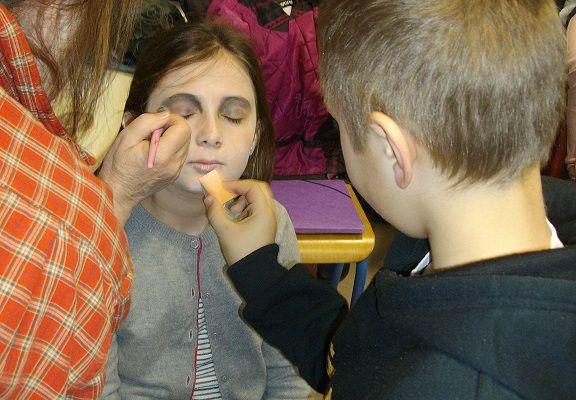 Dans la peau d'un acteur : maquillage...