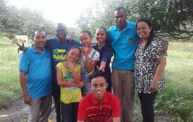 Experience in my host family in Digos: The family is universal!