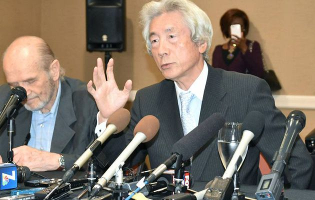 Koizumi in California in support of US sailors