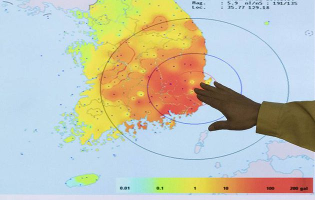 Korea's earthquake prompts nuke safety concerns