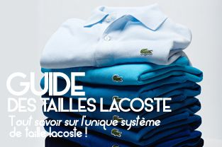 Discountmarques Guide Des Lacoste Tailles Guide W9EDIY2H
