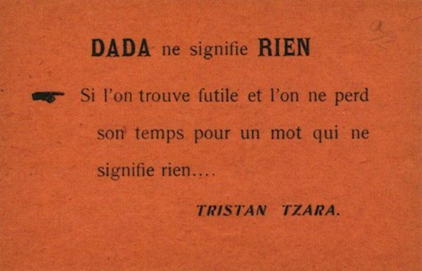 Dada for ever !