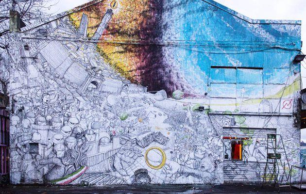 Quand un street-artiste détruit ses propres œuvres...