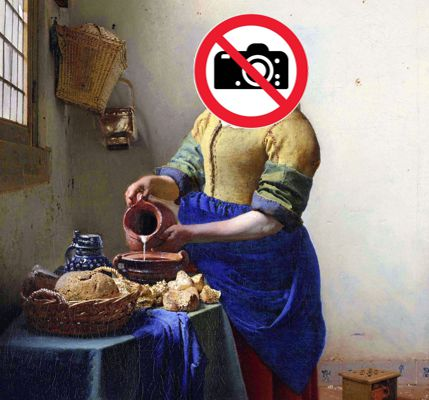 Les photos au Louvre sont toujours illégalement interdites !