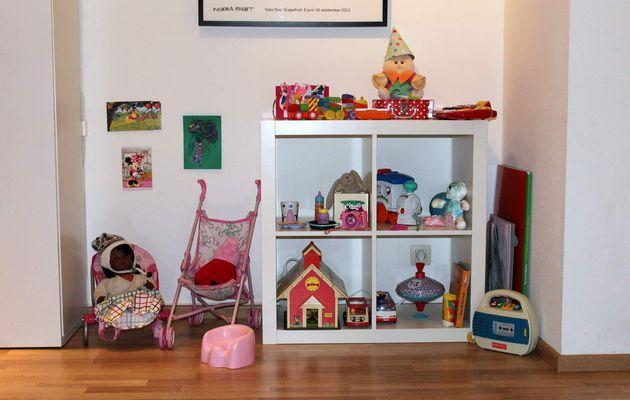 Notre chez nous... un WE tranquille et rotation des jouets (la suite)