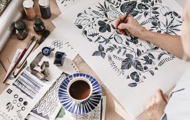 Décoration et illustration - Emma Von Brömssen : Une artiste à découvrir!