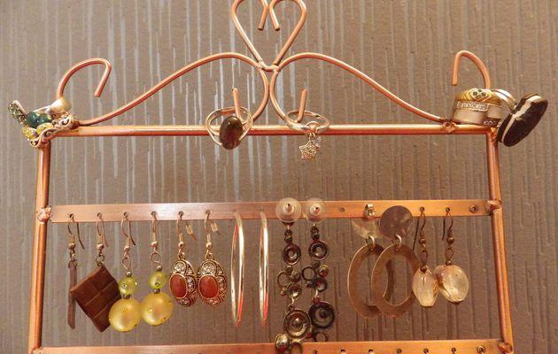 Astuces de rangement bijoux et accessoires