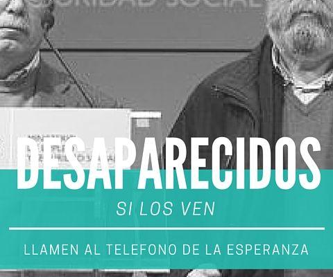 DESAPARECIDOS / SE BUSCAN