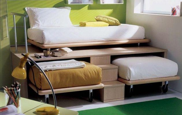 Idea genial para habitación pequeña para niños