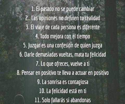 12 cosas a recordar