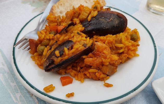 Comer en La Gaviota en Almerimar