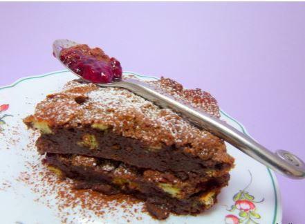 Le pudding Michalak, crousti-chocolaté, ça change !