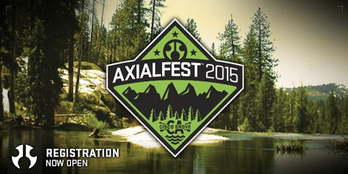 AXIALFEST 2015 - PRE-INSCRIPTION