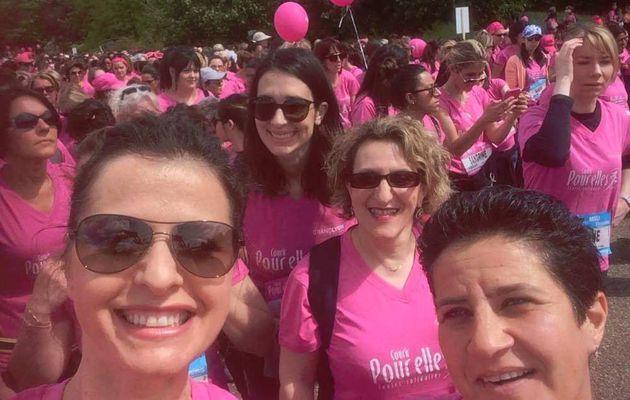 """Vénissieux : A Parilly ils étaient nombreux à """"Courir pour Elles"""" et participer ainsi à la lutte contre le cancer du sein"""