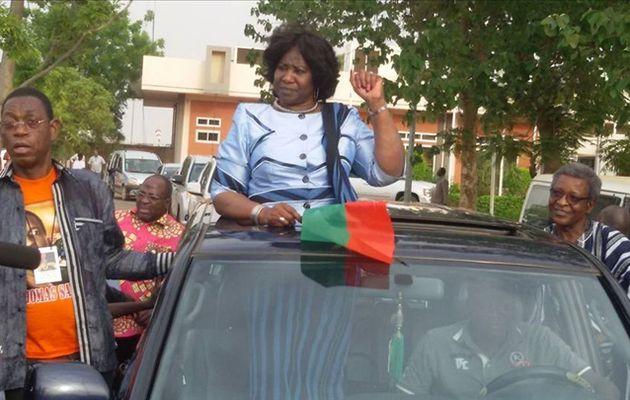 Burkina Faso:Accueil triomphal pour Mariam Sankara à Ouagadougou