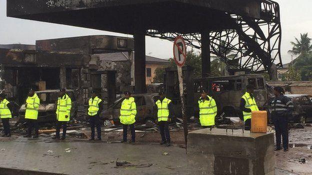 Ghana petrol station inferno kills 90 in Accra