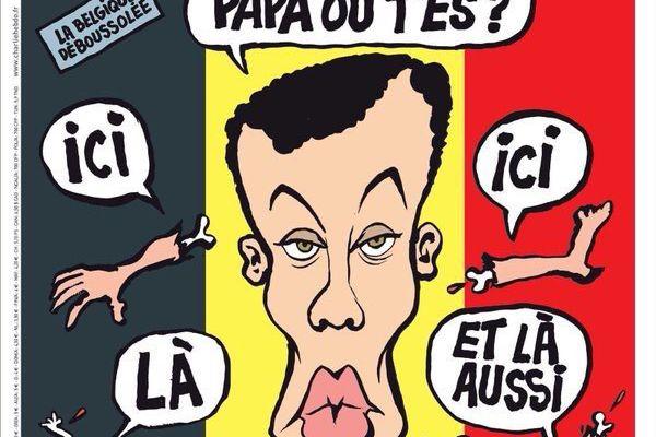 Attentats à Bruxelles: La une de «Charlie Hebdo» avec Stromae fait polémique